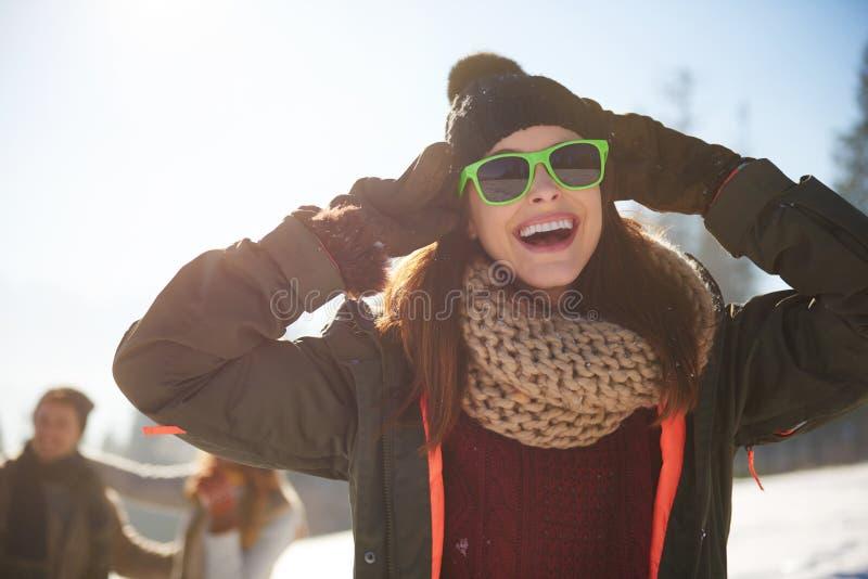 De wintervakantie stock fotografie