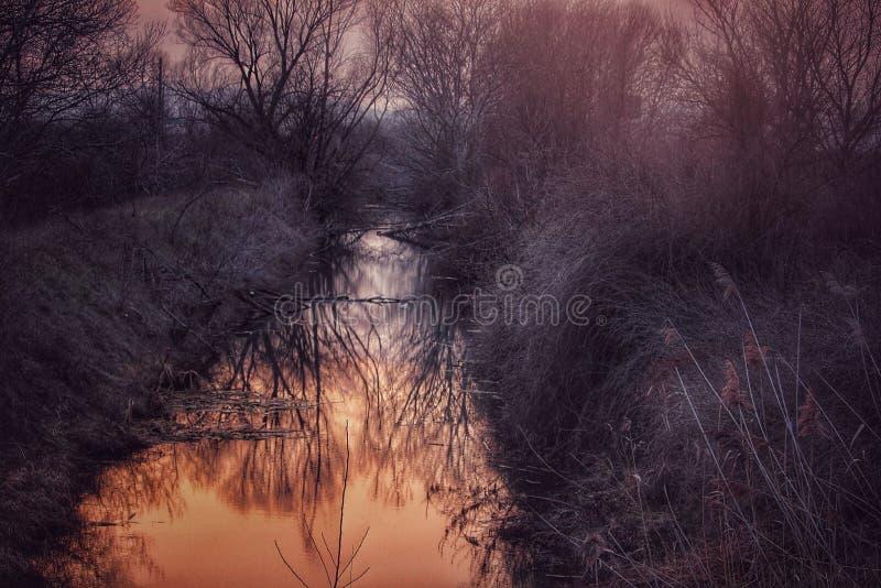 De winterverhaal stock foto's