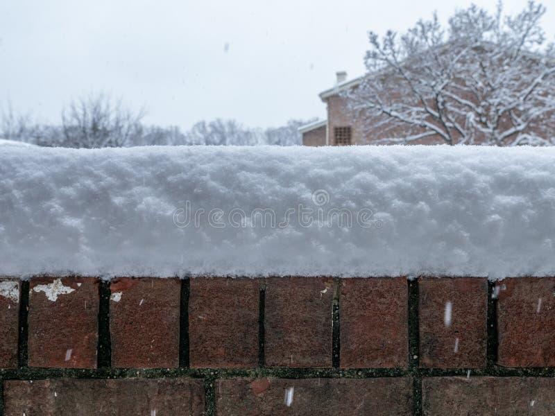 De winterwonder Muur royalty-vrije stock foto's