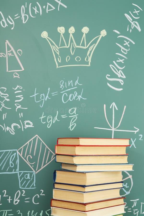 De wiskunde is de Koningin van Wetenschappen stock fotografie