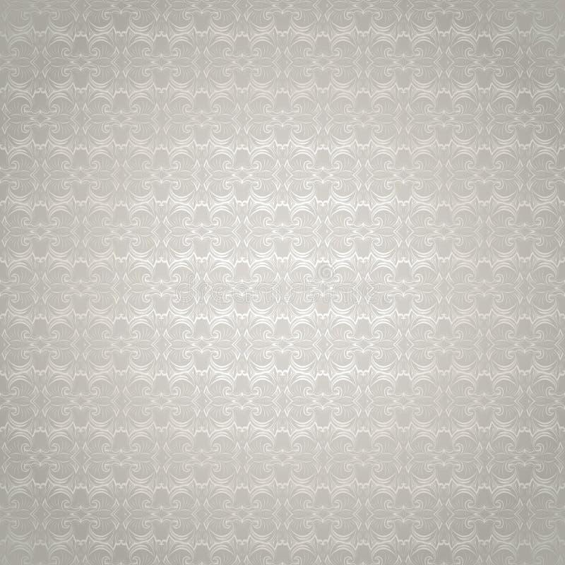 de witte achtergrond met een parel glanst, koninklijk, wijnoogst vector illustratie