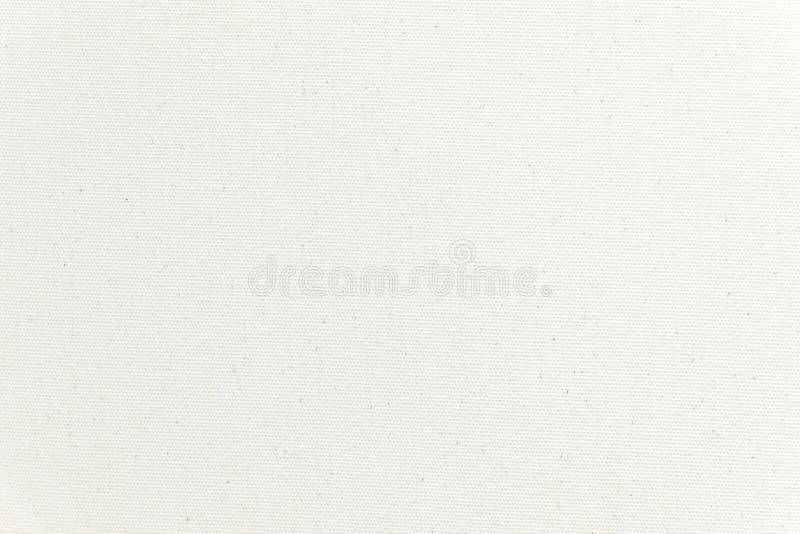 De witte achtergrond van de canvastextuur Close-up stock fotografie