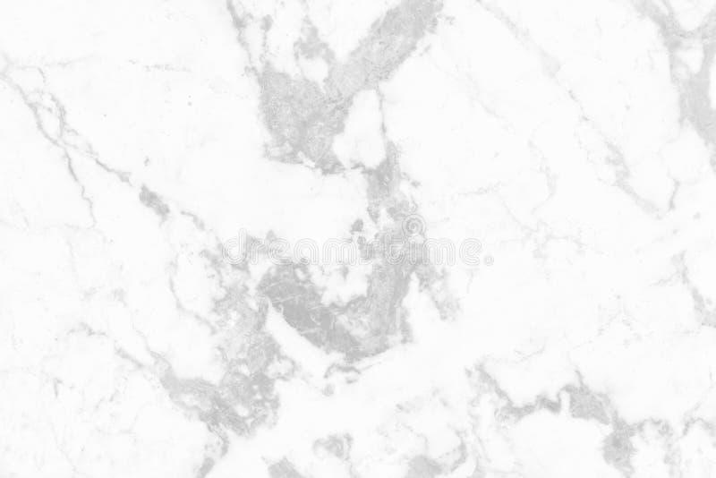 De witte grijze marmeren textuurachtergrond met hoge resolutie, hoogste mening van natuurlijke tegelssteen in luxe en naadloos sc stock foto's