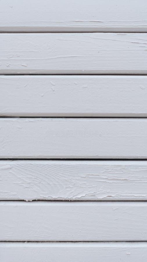 De witte houten achtergrond van de planktextuur royalty-vrije stock afbeelding
