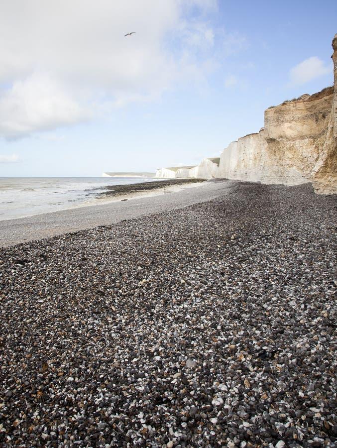De Witte Klippen Van Dover Groot-Brittannië Royalty-vrije Stock Fotografie