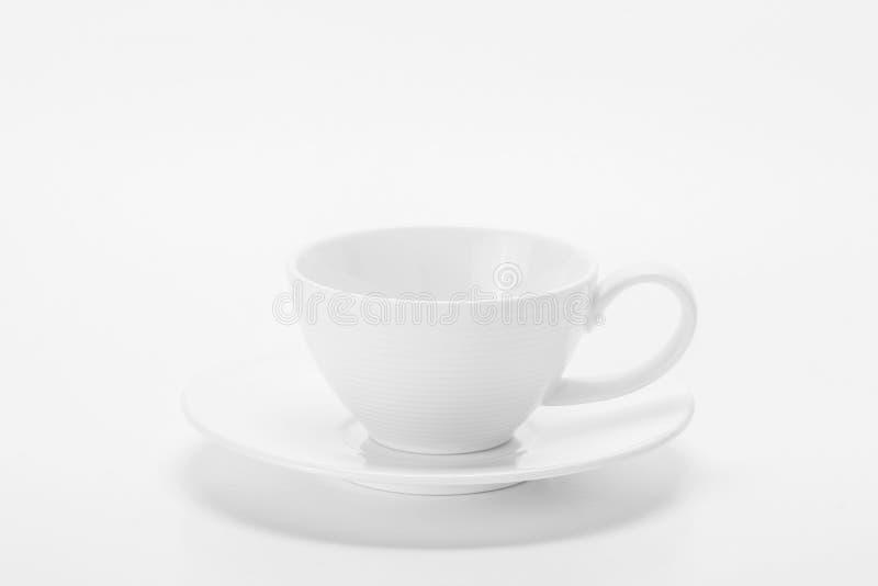 De witte Kop van de Koffie royalty-vrije stock afbeeldingen