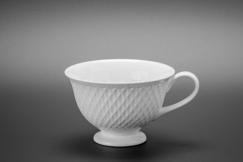 De witte Kop van de Koffie royalty-vrije stock fotografie