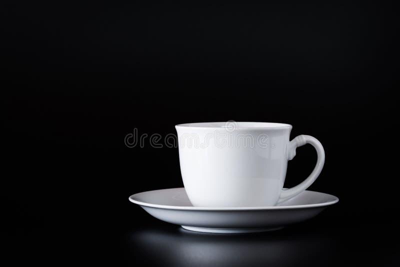De witte Kop van de Koffie royalty-vrije stock afbeelding