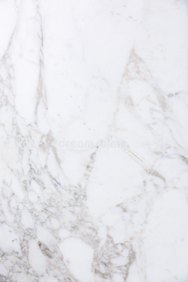 De witte marmeren achtergrond van de natuursteen organische textuur stock foto's
