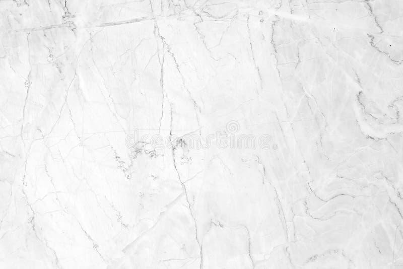 De witte marmeren natuurlijke achtergrond van de patroontextuur De muurontwerp van de binnenland marmeren steen royalty-vrije stock afbeelding