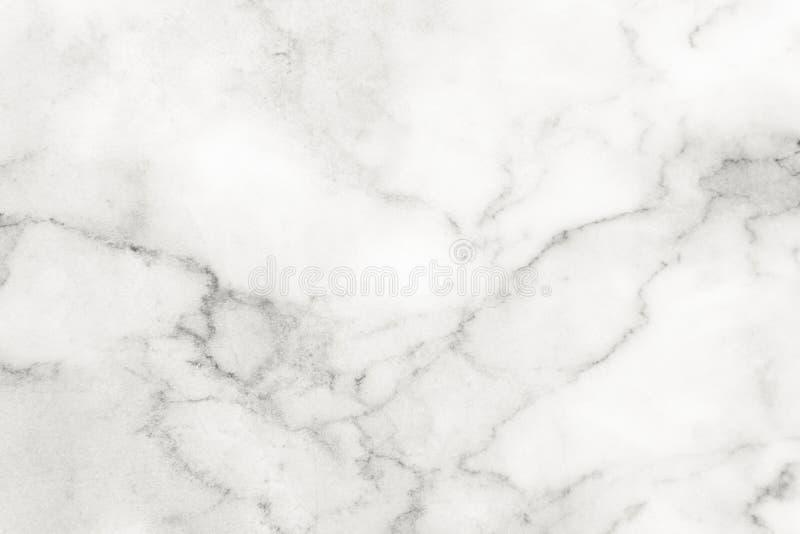 De witte marmeren oppervlakte voor doet ceramisch tegen wit licht van de textuurtegel grijs marmer als achtergrond natuurlijk voo royalty-vrije stock foto's