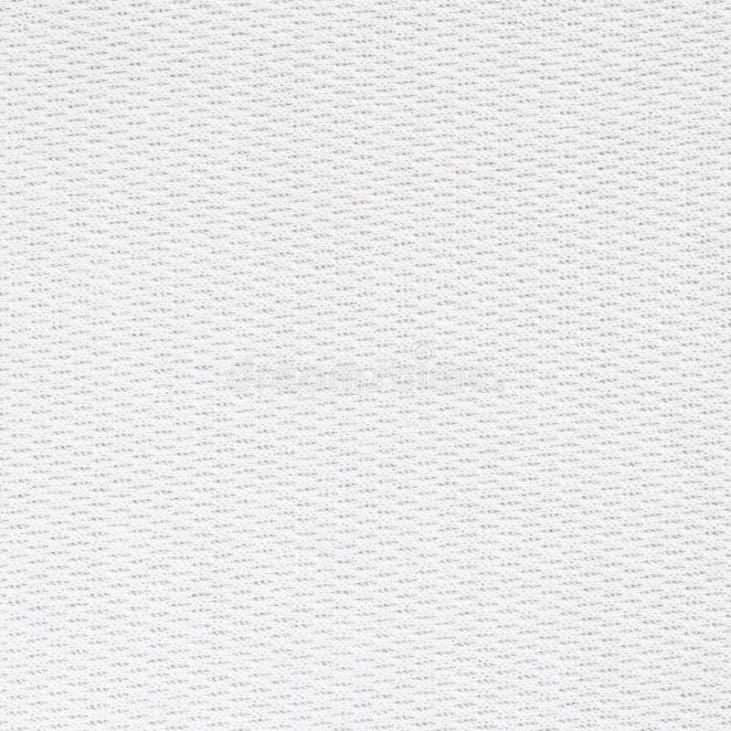 De witte naadloze achtergrond van de canvasstof stock foto's