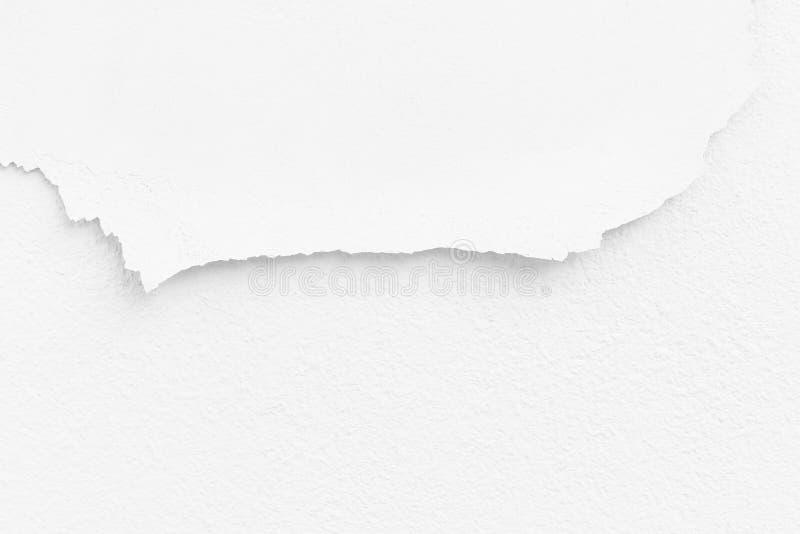 De witte schil van de verf royalty-vrije stock foto