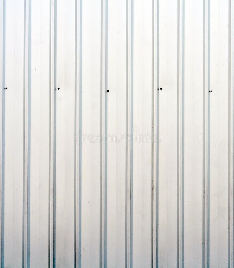 De witte textuur van de vrachtschipcontainer stock foto's