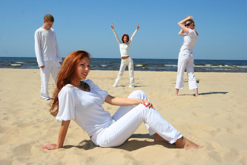 De witte zomer stock afbeeldingen