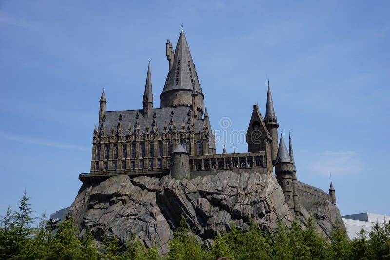 De wizarding wereld van de pottenbakker van Harry stock foto's