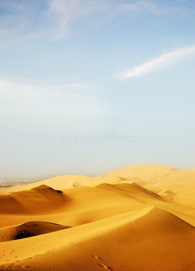 De woestijn royalty-vrije stock fotografie