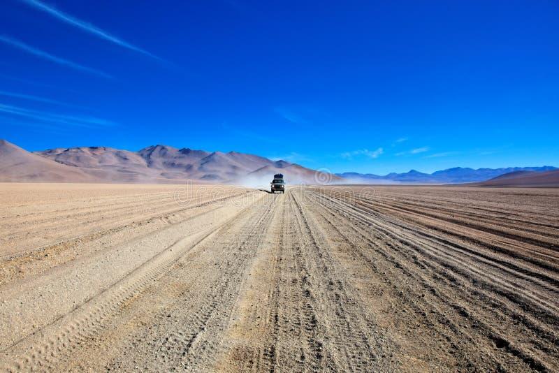 De Woestijn Bolivië van Atacama royalty-vrije stock foto's