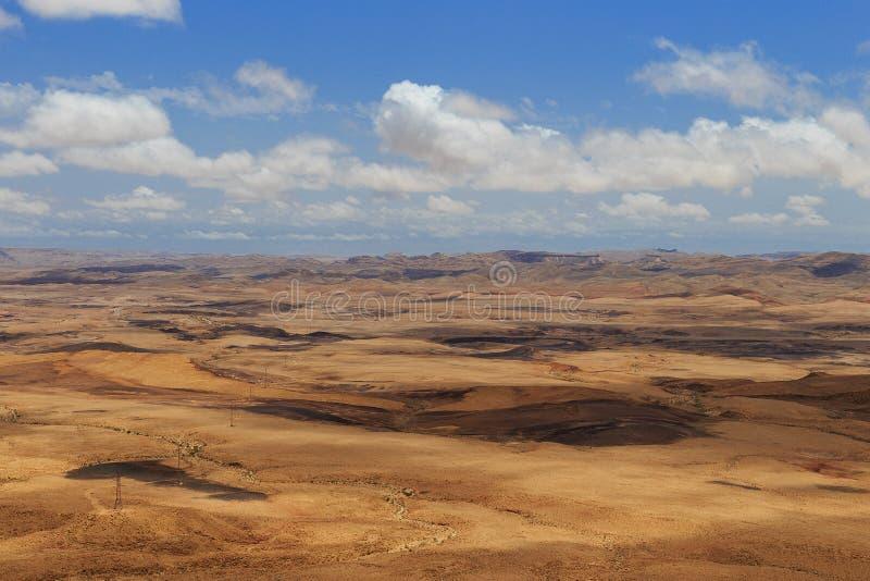 De Woestijn van Arava stock foto