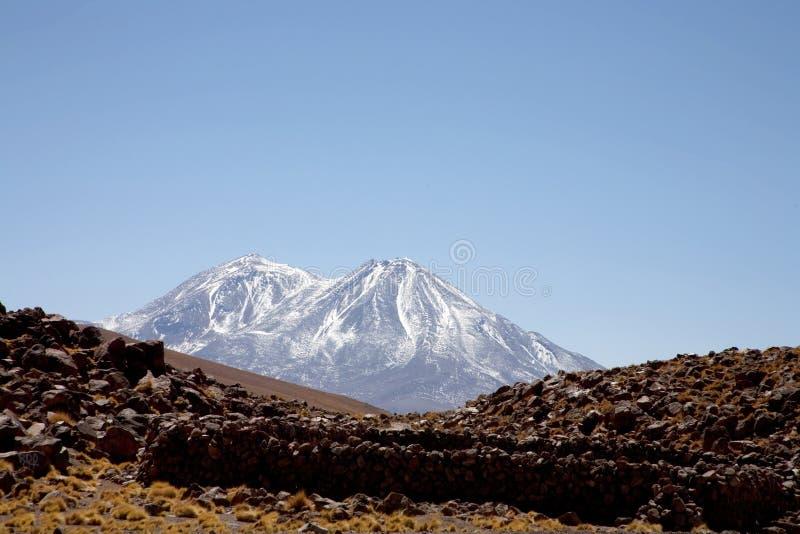 De woestijn van Atacama royalty-vrije stock afbeeldingen