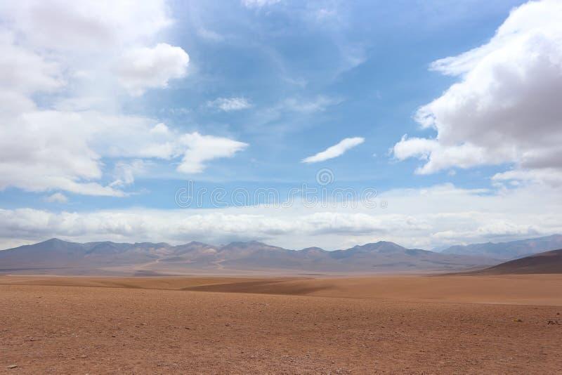 De woestijn van Atacama royalty-vrije stock foto's