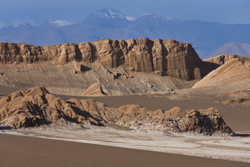 De Woestijn van Atacama - Chili stock fotografie