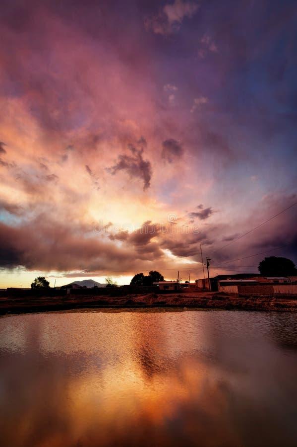 De Woestijn van Bolivië Atacama royalty-vrije stock fotografie