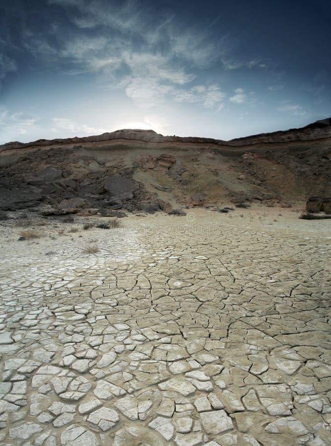 De Woestijn van de klei royalty-vrije stock afbeelding