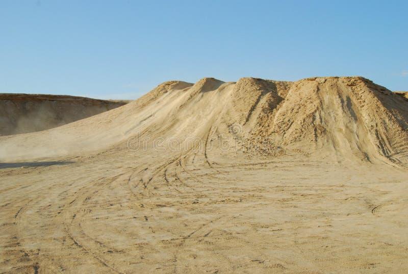 De Woestijn van de Sahara royalty-vrije stock foto