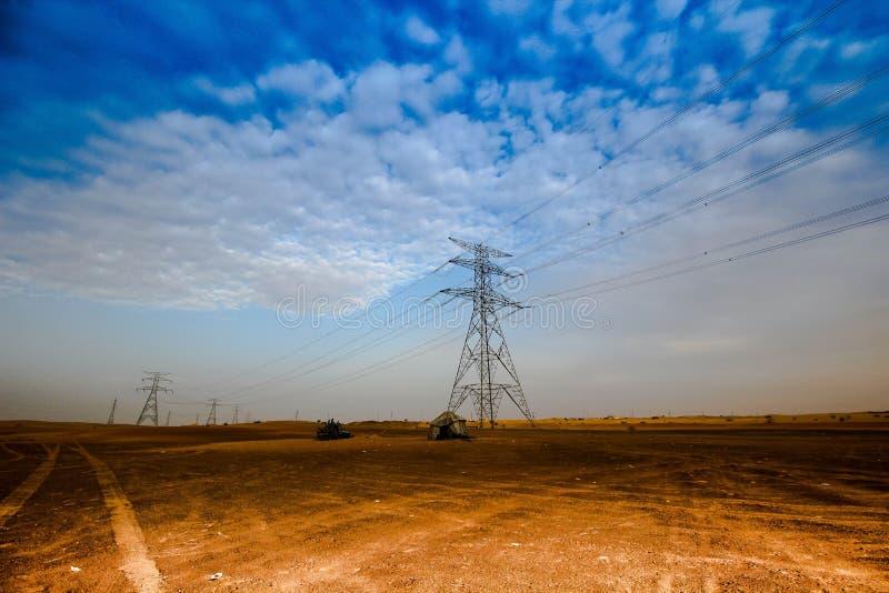 De Woestijn van Doubai Hatta stock fotografie