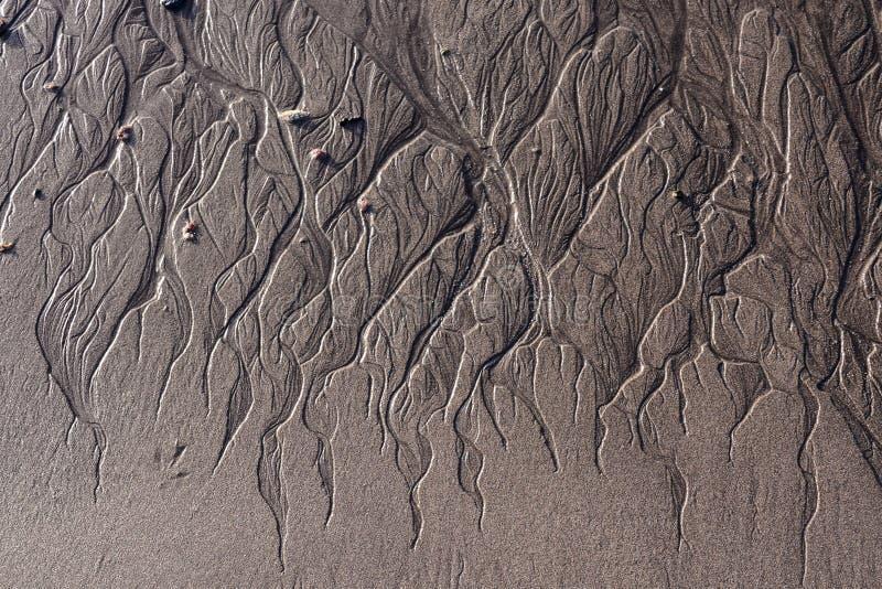 De Woestijn van het textuurzand royalty-vrije stock afbeeldingen