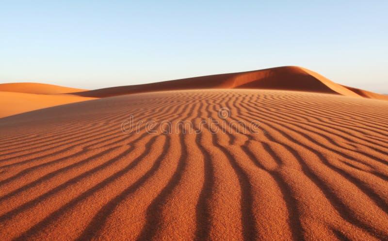 De woestijn van het zand royalty-vrije stock foto