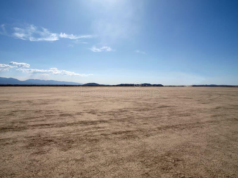 De Woestijn van Mojave van de Luchtspiegeling van Gr royalty-vrije stock afbeeldingen