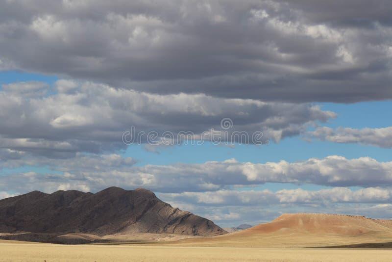 De Woestijn van Namib in Namibië royalty-vrije stock foto