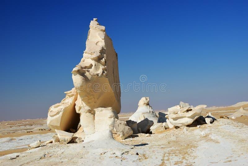 De Woestijn van de Sahara, Egypte royalty-vrije stock fotografie