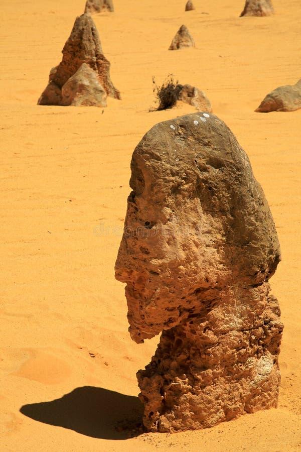De Woestijn van toppen royalty-vrije stock foto