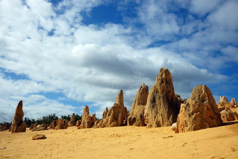 De woestijn van Toppen royalty-vrije stock afbeelding