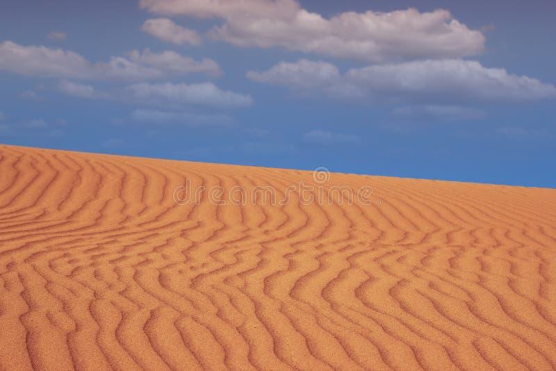 De woestijnlandschap van het zand royalty-vrije stock foto