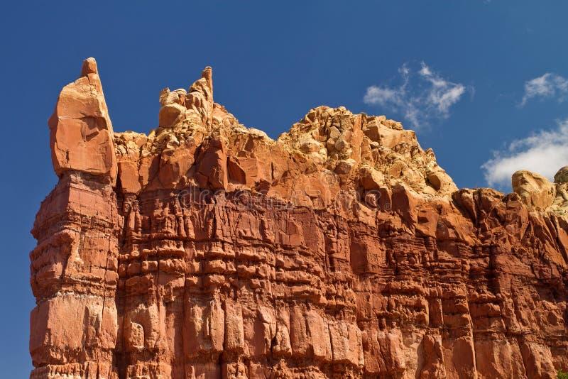 De woestijnlandschap van New Mexico royalty-vrije stock afbeelding
