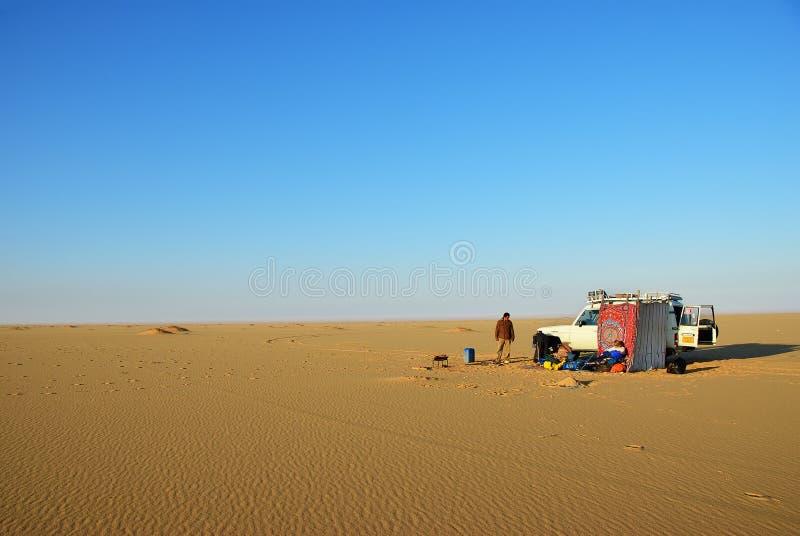 De woestijnsafari van de Sahara royalty-vrije stock fotografie