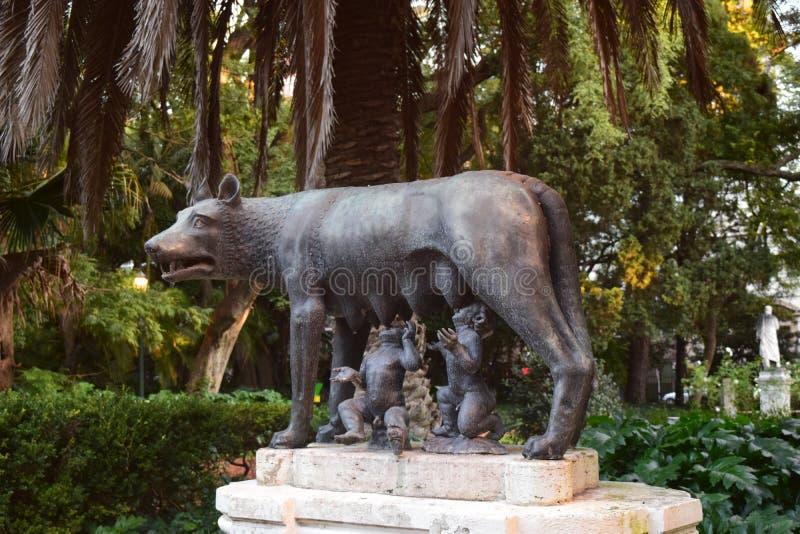 De wolf van Rome royalty-vrije stock afbeelding