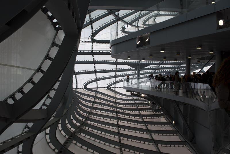 De Wolk, nieuw Congrescentrum in Rome door Massimiliano Fuksas royalty-vrije stock afbeelding