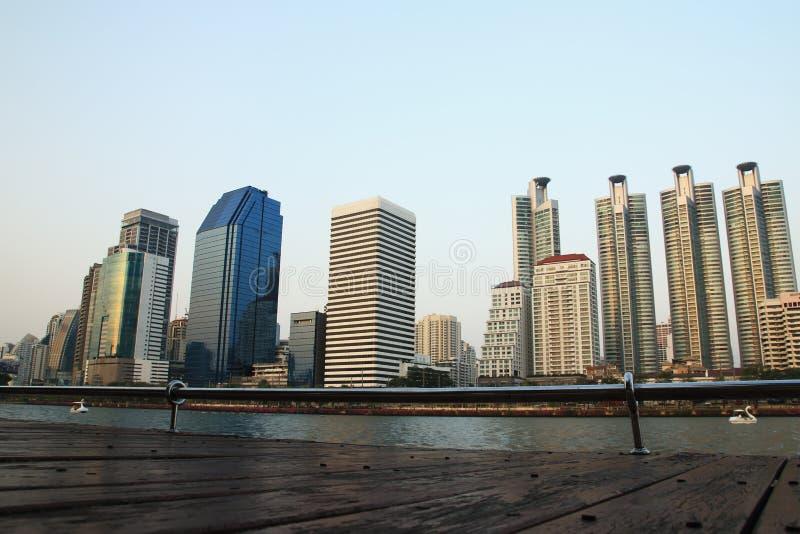De wolkenkrabber van Bangkok royalty-vrije stock fotografie