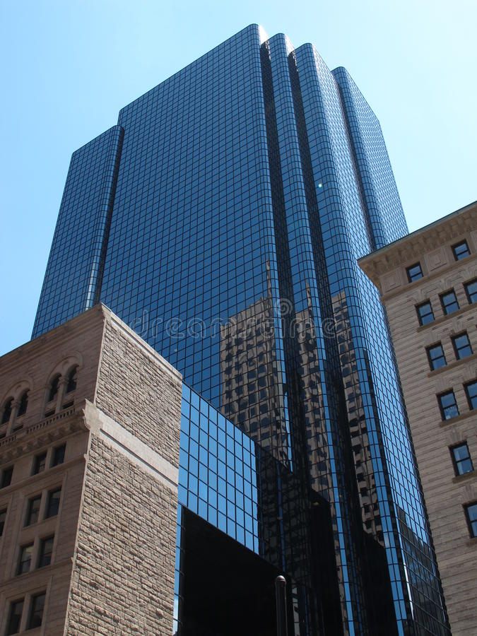 De Wolkenkrabber van Boston royalty-vrije stock fotografie