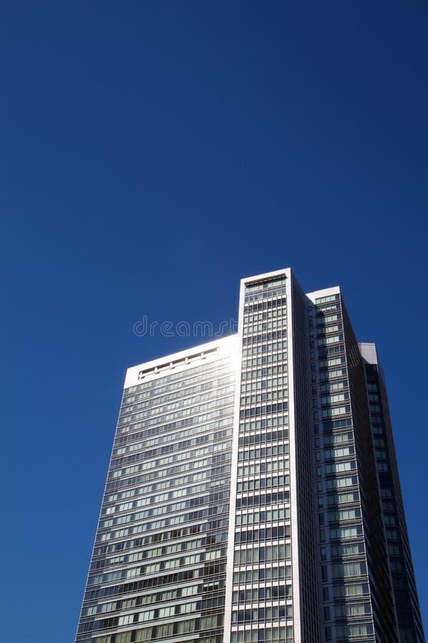 De wolkenkrabber van de Bezinning van de zon royalty-vrije stock fotografie