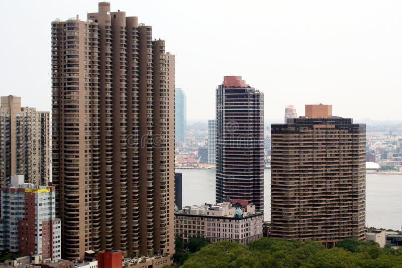 De Wolkenkrabber van de Stad van New York stock foto's