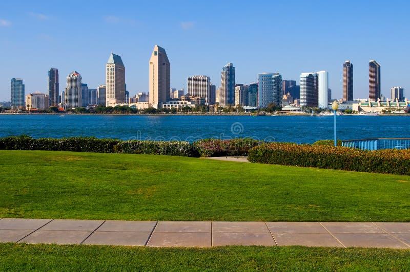 De wolkenkrabbers van San Diego royalty-vrije stock afbeelding