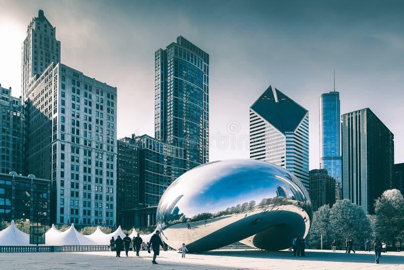 De Wolkenpoort van Chicago royalty-vrije stock afbeelding