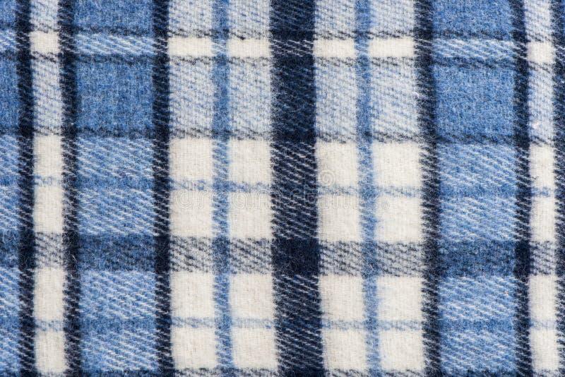 De wolstof van de geruit Schots wollen stofplaid royalty-vrije stock afbeelding