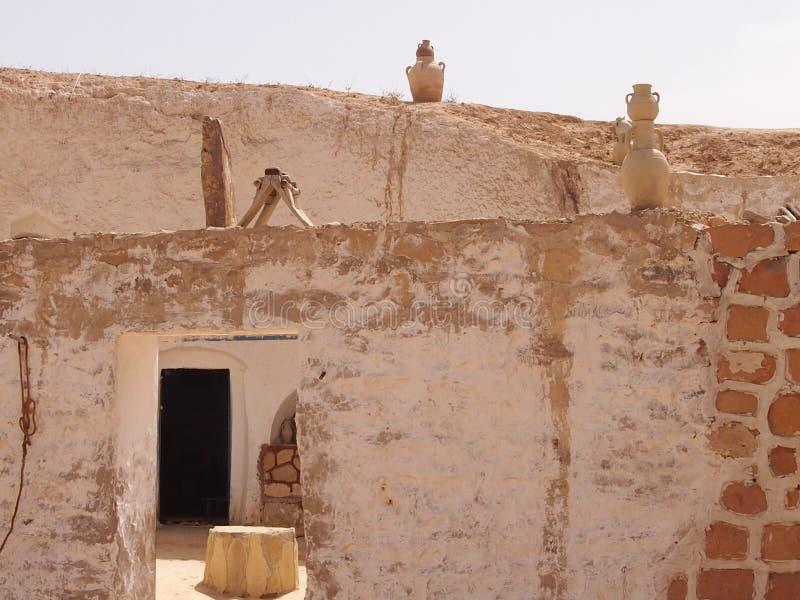 De woning van berbers in bergen royalty-vrije stock foto